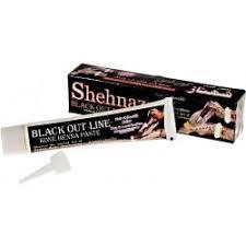 Henna Tetovací Pasta Black Line 35 G Barva Na Vlasy Nejlepší Cenycz