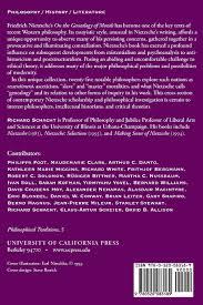 genealogy morals essay fedex mechanic cover letter it expert nietzsche genealogy morality essays on nietzsche s on the 810onj3yzjl 0520083180 genealogy morals essay 3 genealogy morals essay 3