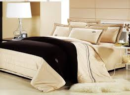image of cream colored comforter sets queen
