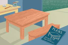 These rustic dining table benches are made from recycled timber and they look great in any modern setting. 13 Free Dining Room Table Plans For Your Home