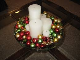 Glass Bowl Decoration Ideas Comely Christmas Centerpieces Table Decorations Ideas With 39