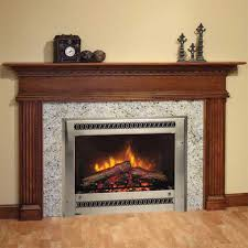 alluring fireplace design for home interior come with wooden legs in carving and wooden mantel shelf