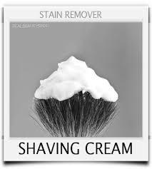 shaving cream sn remover