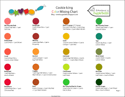 Black Color Mixing Chart Cookie Icing Color Mixing Chart Pdf Format E Database Org
