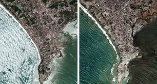 Tsunami strikes ao nang, thailand. Before And After Pictures Of The Indian Ocean Tsunami Business Insider