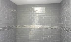 light tile dark grout great light gray subway tile bathroom grey shower the best option kitchen