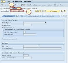 T Code To Display Chart Of Accounts In Sap Gl Account In Sap Tutorial Create Display Block Delete Fs00