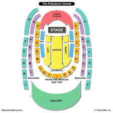 Boardwalk Hall Atlantic City Seating Chart Virtual The Palladium Carmel Seating Chart Seating Charts Tickets