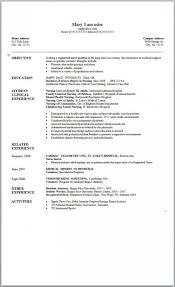 004 Graduate Nurse Resume Template Free Download New Grad Nursing