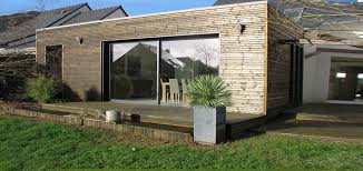 Extension House Wood 20m2