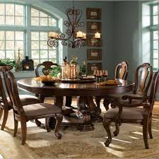 rustic round kitchen table. Rustic Round Dining Table For 8 Costco Set 7 Piece Imagio Home Furniture Counter Height Small Kitchen Sets Person S