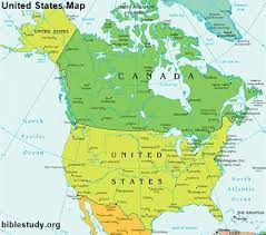 United States Map Of The World United States Map