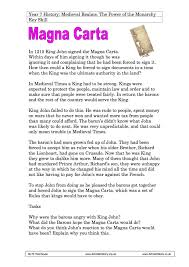 the signing of the magna carta by king john year worksheet the signing of the magna carta by king john