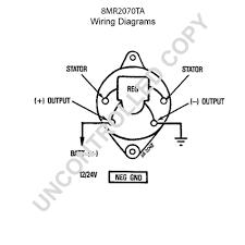 Leece neville alternator wiring diagram prestolite new marine