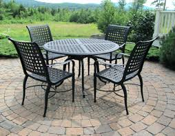 adorable round table outdoor dining sets patio furniture with fire pit design chair set