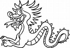 Small Picture Chinese Dragon Coloring Pages FunyColoring