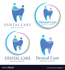 dental logos images family dental logos royalty free vector image vectorstock