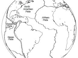 North America Map Coloring Page S And South Technicalink Info