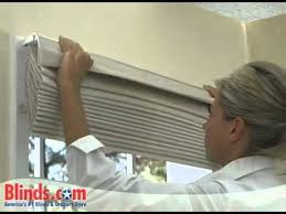outside mount roman shades. How To Install Outside Mount Roman Shades Blinds Com YouTube