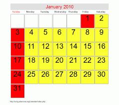 2010 Calendar January January 2010 Roman Catholic Saints Calendar