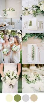 wedding table ideas. Beautiful Ivory And Greenery Neutral Wedding Color Ideas Table