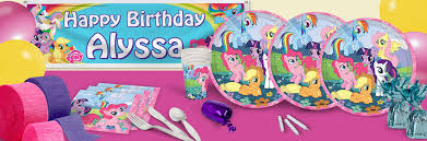International Party Decorations My Little Pony Birthday Party Supplies Ideas Decorations Shindigz