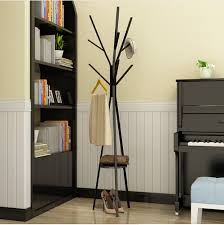 Coat Rack Hanger Stand Metal tree style Coat rack floor type hanger fashionable creative 61