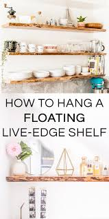 How To Make Solid Wood Floating Shelves Stunning How To Hang Solid Wood Floating Shelves