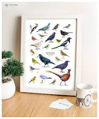 british wildlife wall art