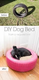 repurpose furniture dog. DIY Dog Bed From Old Tire Repurpose Furniture D