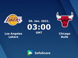 Los Angeles Lakers Chicago Bulls live score, video stream and H2H results -  SofaScore