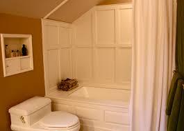 bathtub surround paneled corian