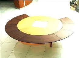 round expandable dining room table glamorous oval