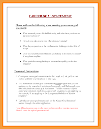 What Are Your Personal And Career Goals A Written Statement Of Educational And Professional Goals