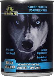 Amazon.com: My Healthy Pet Limited Ingredients Dog Pate, Grain Free - Duck:  Pet Supplies