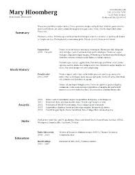 Resume Writing Template For Students. Resume Writing Template ...