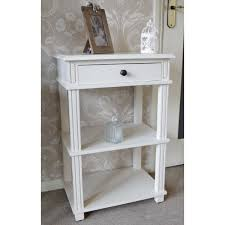 small cream console table. Hall Tables French Shab Chic White Amp Cream Console Small Table R