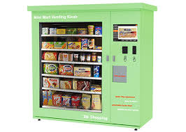 Kiosk Vending Machine Amazing Touch Screen Mini Mart Vending Machine Beverage Candy Snack Food