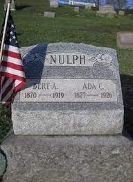 Ada Cora Geiger Nulph Hanson (1877-1927) - Find A Grave Memorial