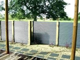 corrugated metal panels fence tucson steel panel galvanized cost