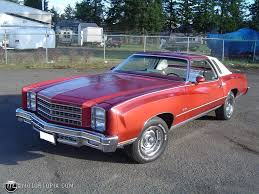 1976 Monte Carlo~Lol The car my mom owned during my early ...