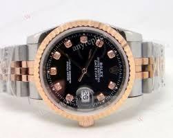 rolex rose gold datejust diamond watch replica rose gold rolex rolex datejust black dial two tone rose gold diamond replica watch