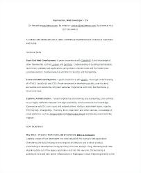 cover letter for entry level software developer entry level web developer cover letter homework example january