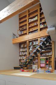 Japanese Bookcase Design Space Conscious Japanese Family Home In Wood And Concrete
