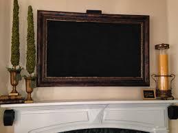 labels flat screen tv frame framed tv over fireplace tv frame