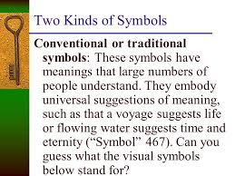 "a symbol is ""a thing that suggests more than its literal meaning  examples of symbols  in a horror story a bat represent something different"