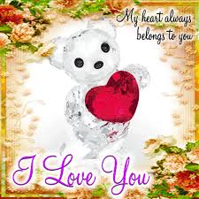 a cute i love you card