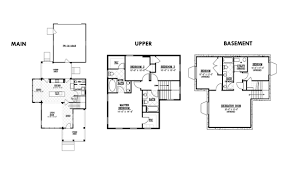 New Waterside Cottage Floor Plans from Rainey Homes   Daybreak    If you are looking for a home   a master retreat on the main floor the Monterey floor plan   be the perfect home for you  Incorporating   total Sq