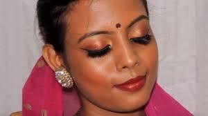 bridal makeup for dark indian skin beginner tutorial