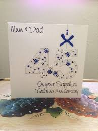 13 best 45th wedding anniversery images on 45th wedding anniversary cards